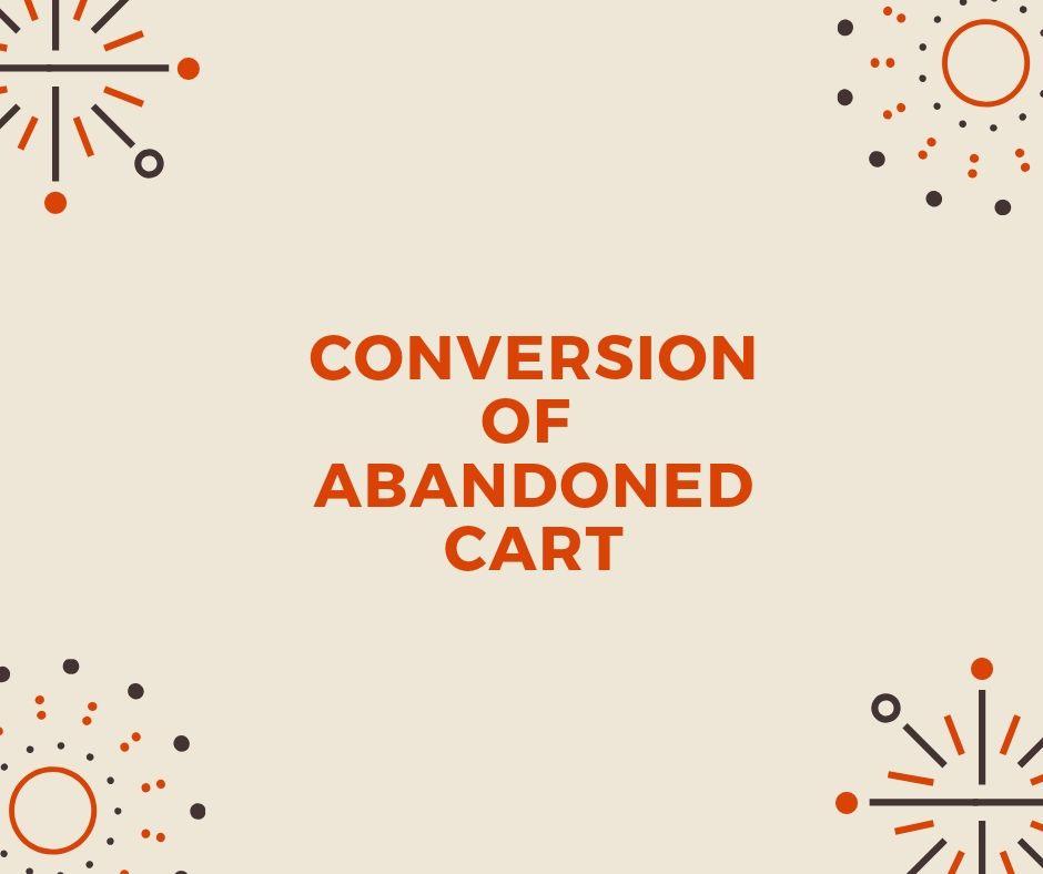 Cart abandonment